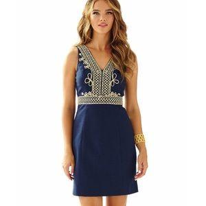 Lily Pulitzer Aveline Navy dress